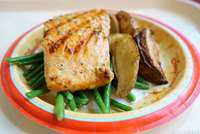Oak-grilled Salmon