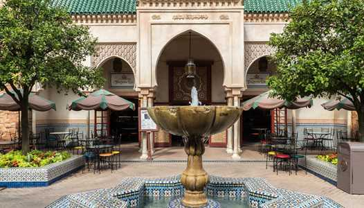Tangierine Cafe closes at EPCOT