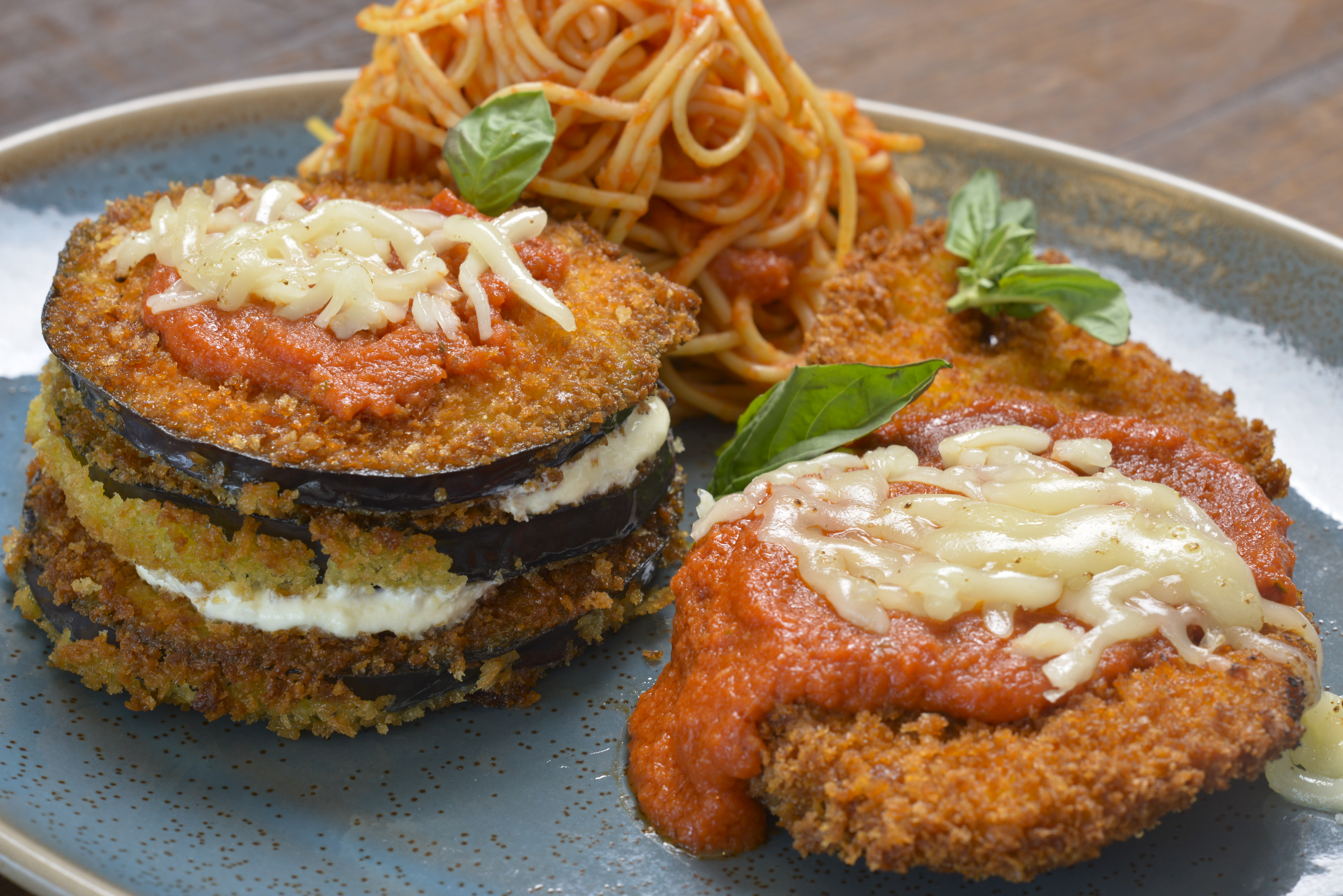 Terralina Crafted Italian - Eggplant Parmesan Stack