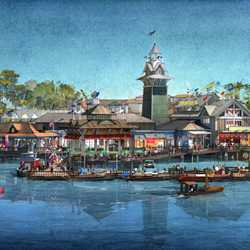The BOATHOUSE concept art