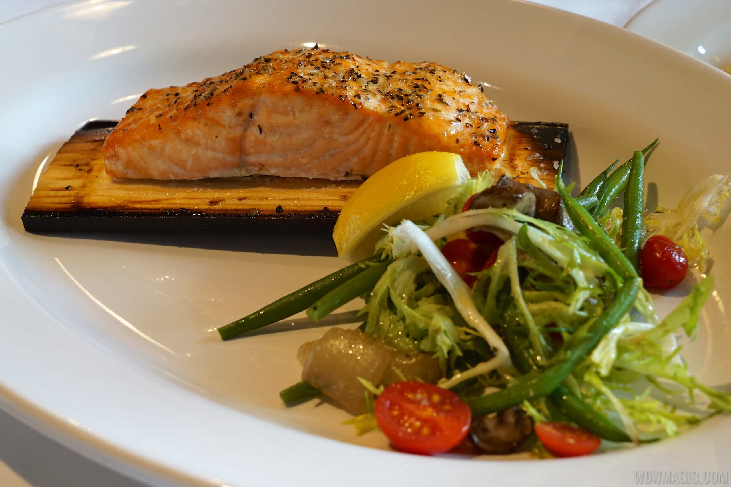 The BOATHOUSE Food - Cedar Plank Salmon