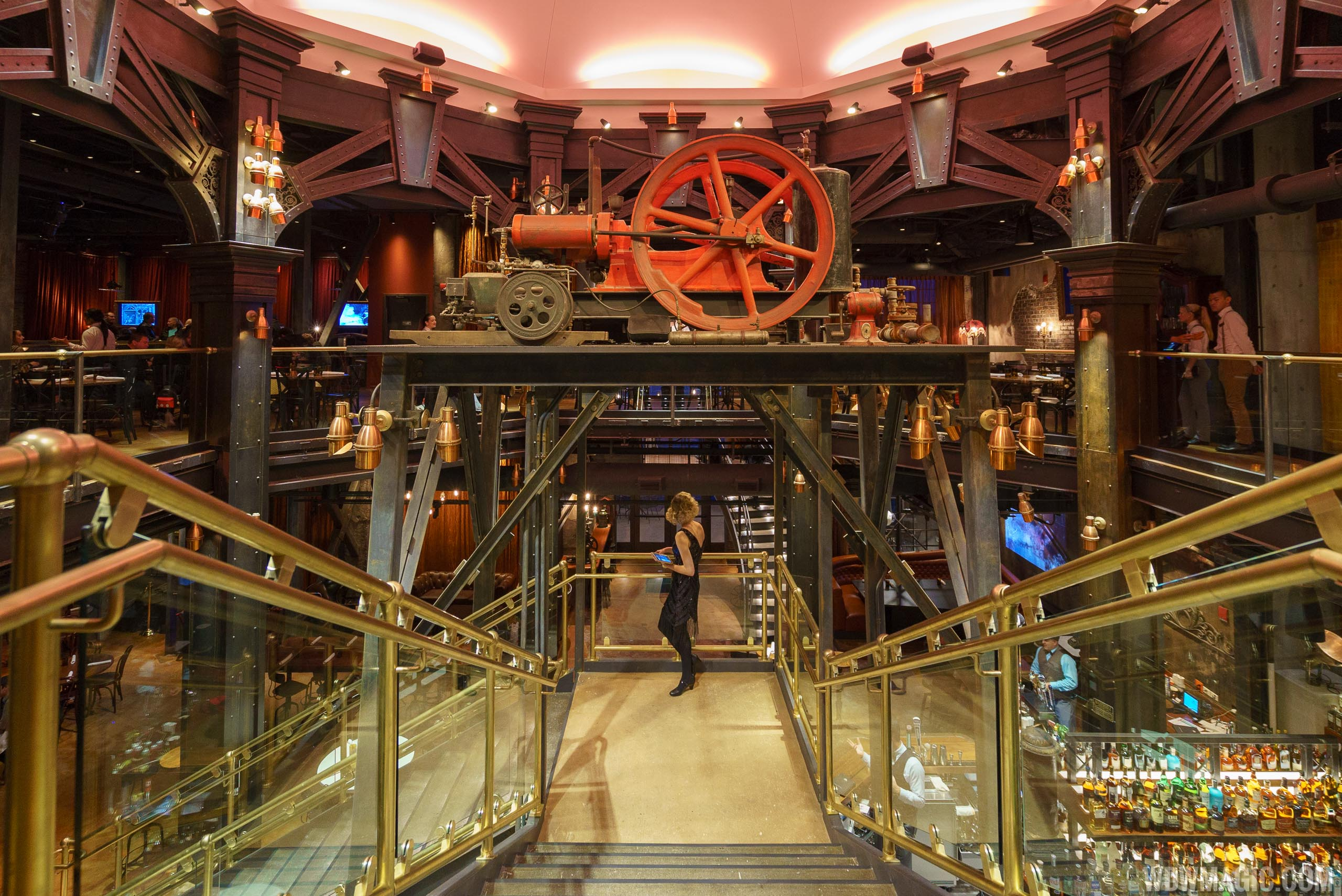 The central staircase at The Edison