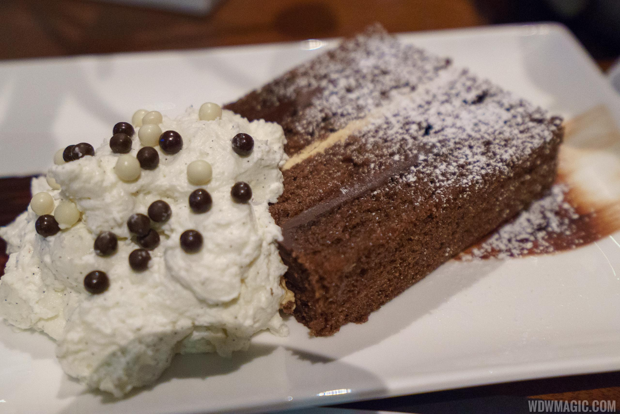 The Edison -Bittersweet Chocolate Mile High Cake