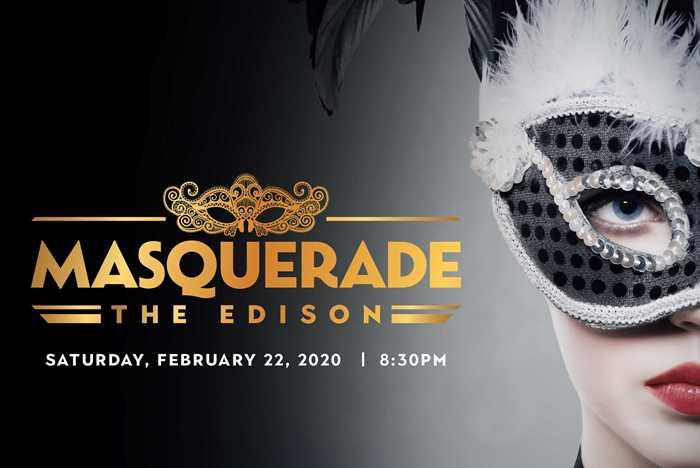 Masquerade at The Edison
