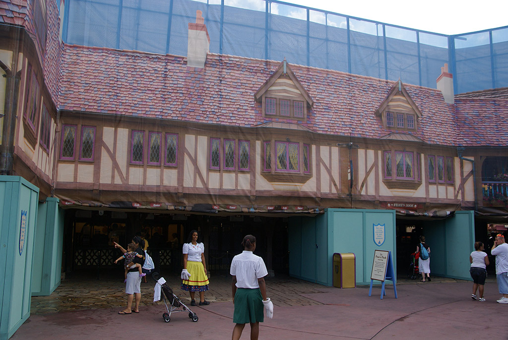 The Friar's Nook exterior refurbishment