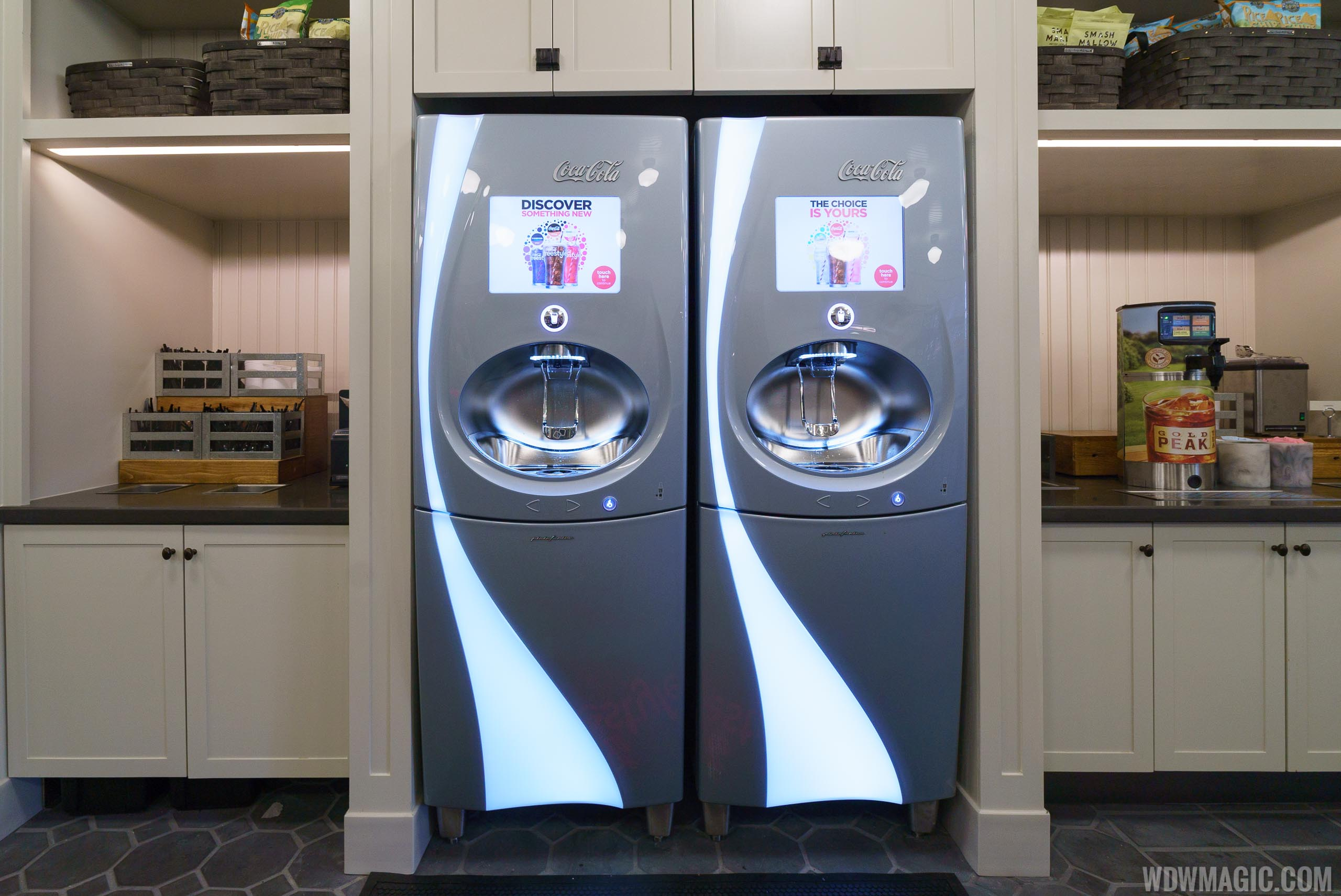 The Market at Ale and Compass - Coca-Cola Freestyle machines