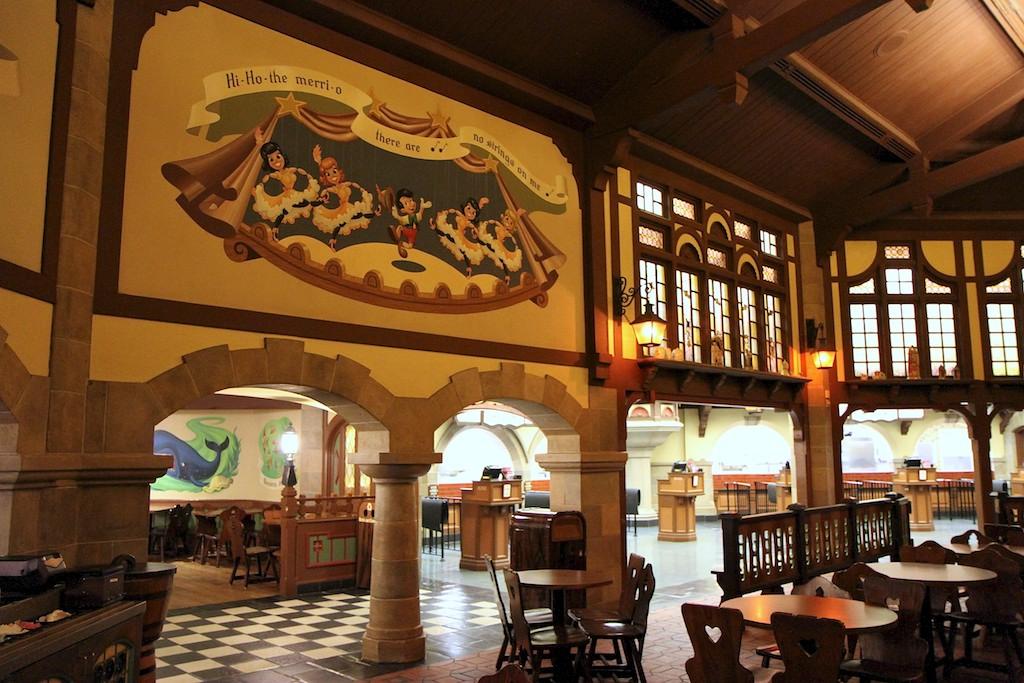 Pinocchio Village Haus inside dining room