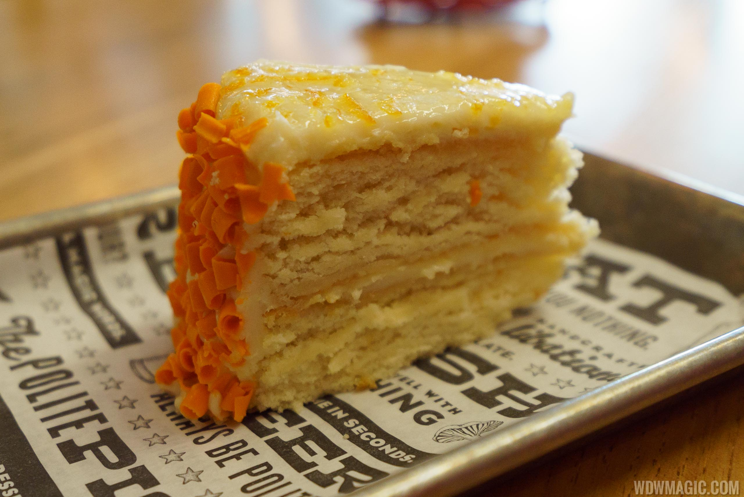 The Polite Pig - Orange Blossom Honey Cake