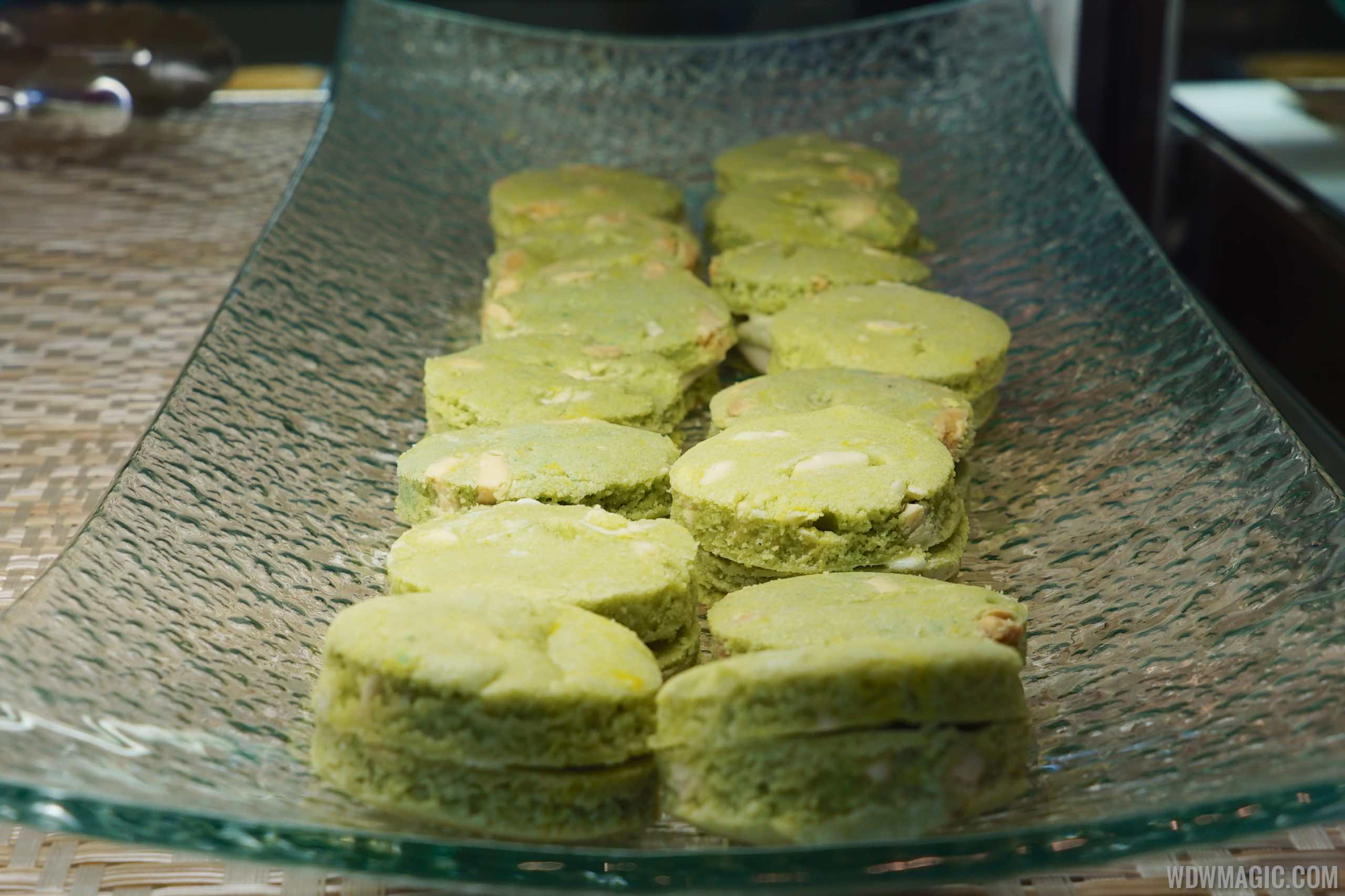 Matcha Cookie Shortbread