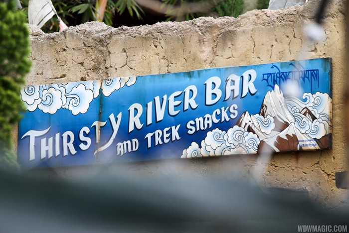 Thirsty River Bar and Trek Snacks construction