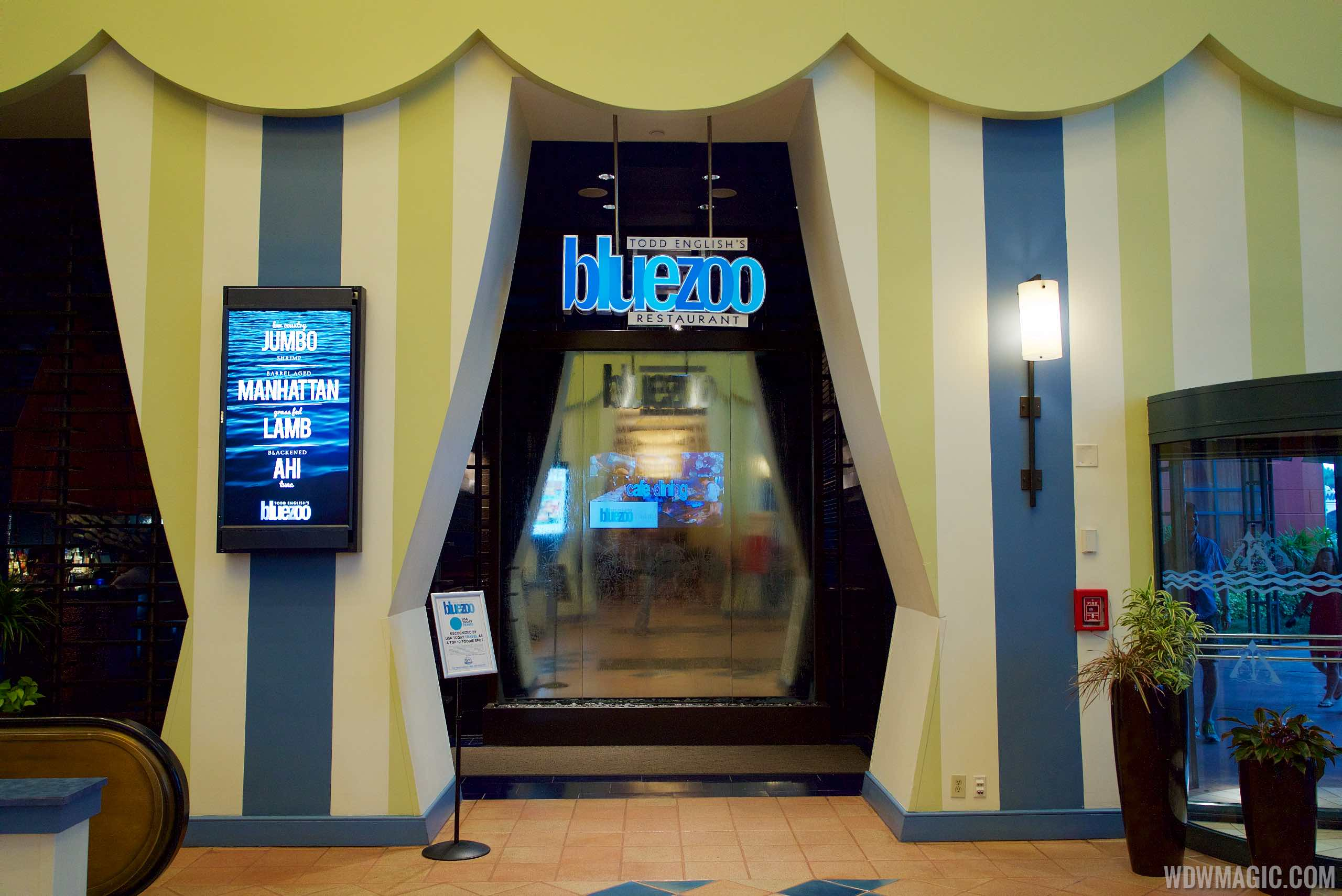 Todd English's bluezoo - Entrance