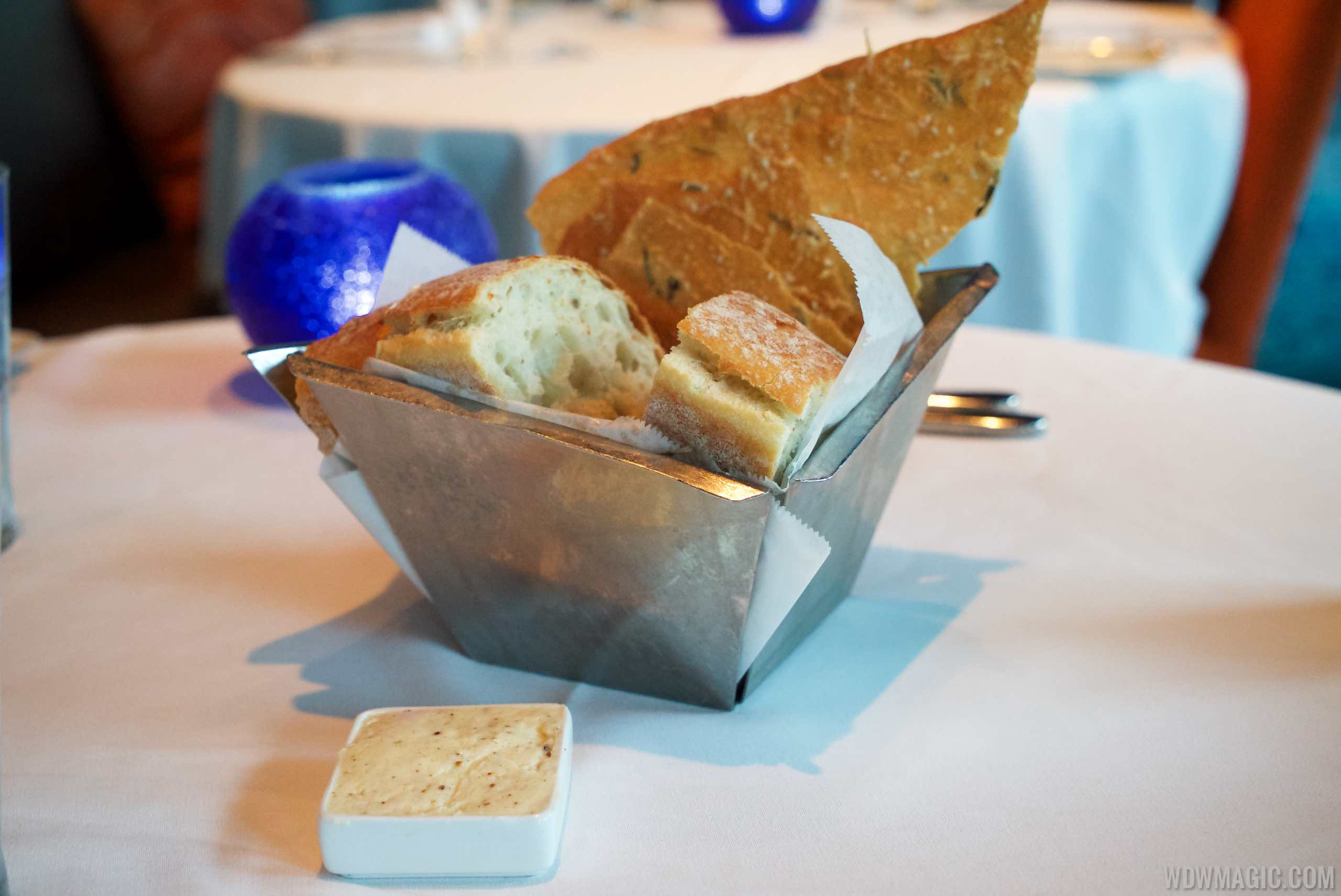 Todd English's bluezoo food - Complimentary Bread basket