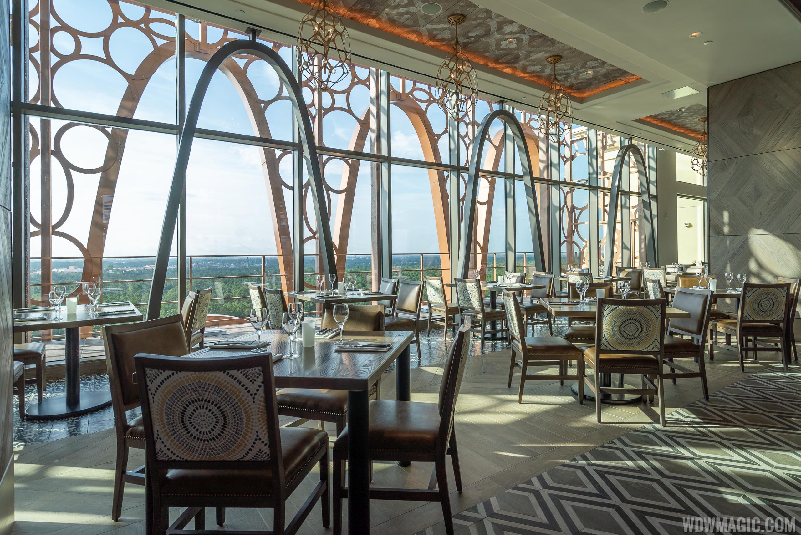 Toledo dining room overview