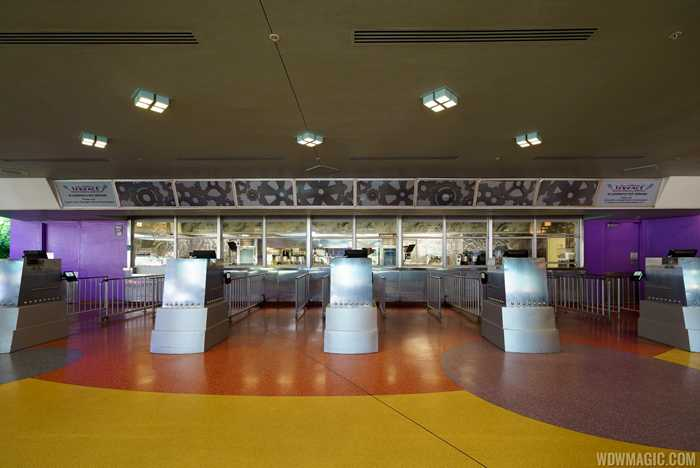 Tomorrowland Terrace overview