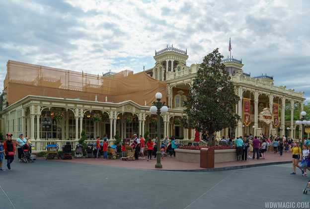 Tony's Town Square Restaurant exterior refurbishment