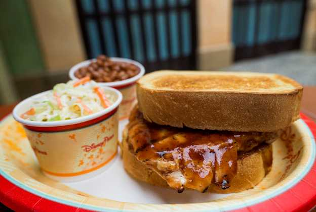 New Tortuga tavern BBQ menu items