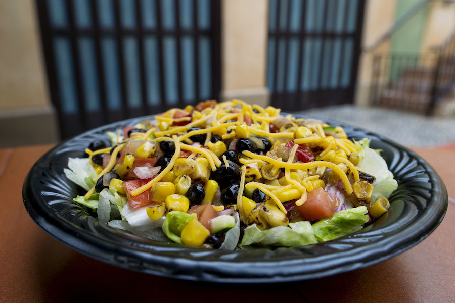 Tortuga Tavern - Roasted Corn and Vegetable Salad
