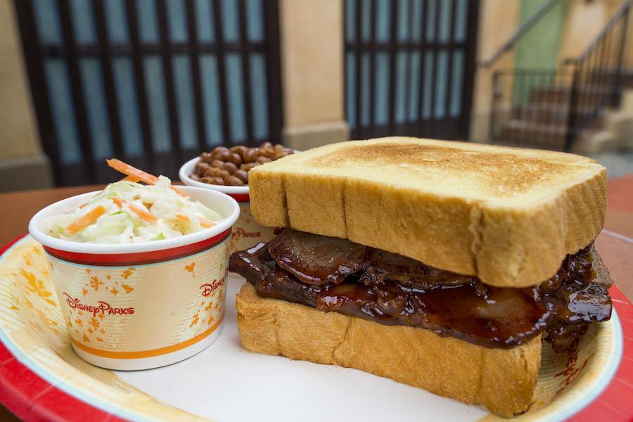 Tortuga Tavern - Brisket Sandwich