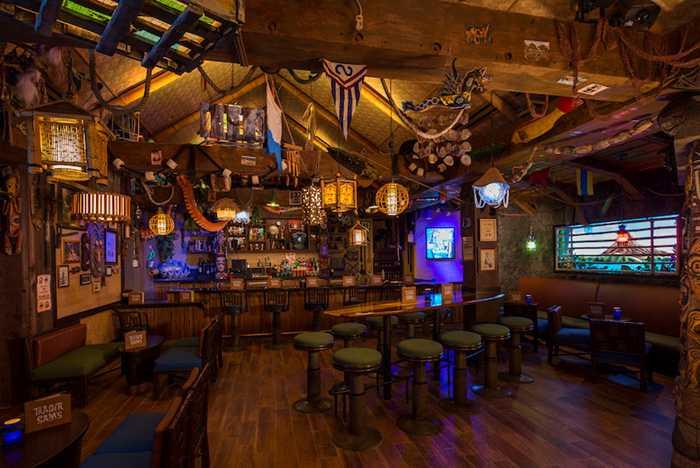 Inside Trader Sam's Grog Grotto