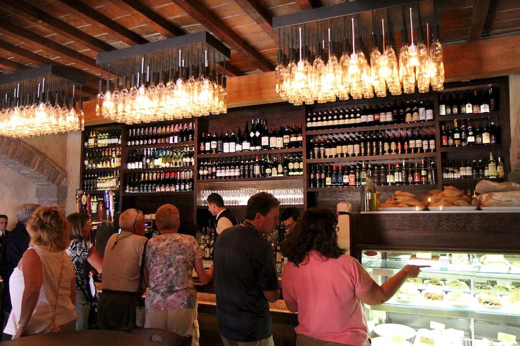 Tutto Gusto Wine Cellar interior