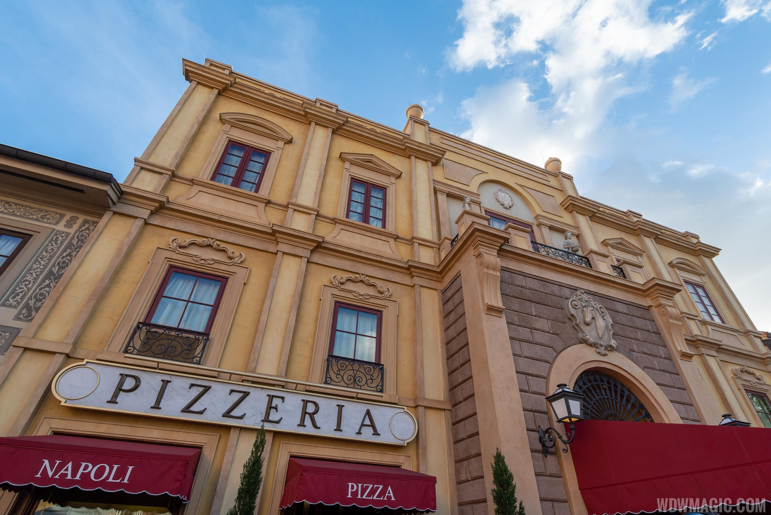 Via Napoli is one of the Patina Restaurant Group's restaurants at EPCOT