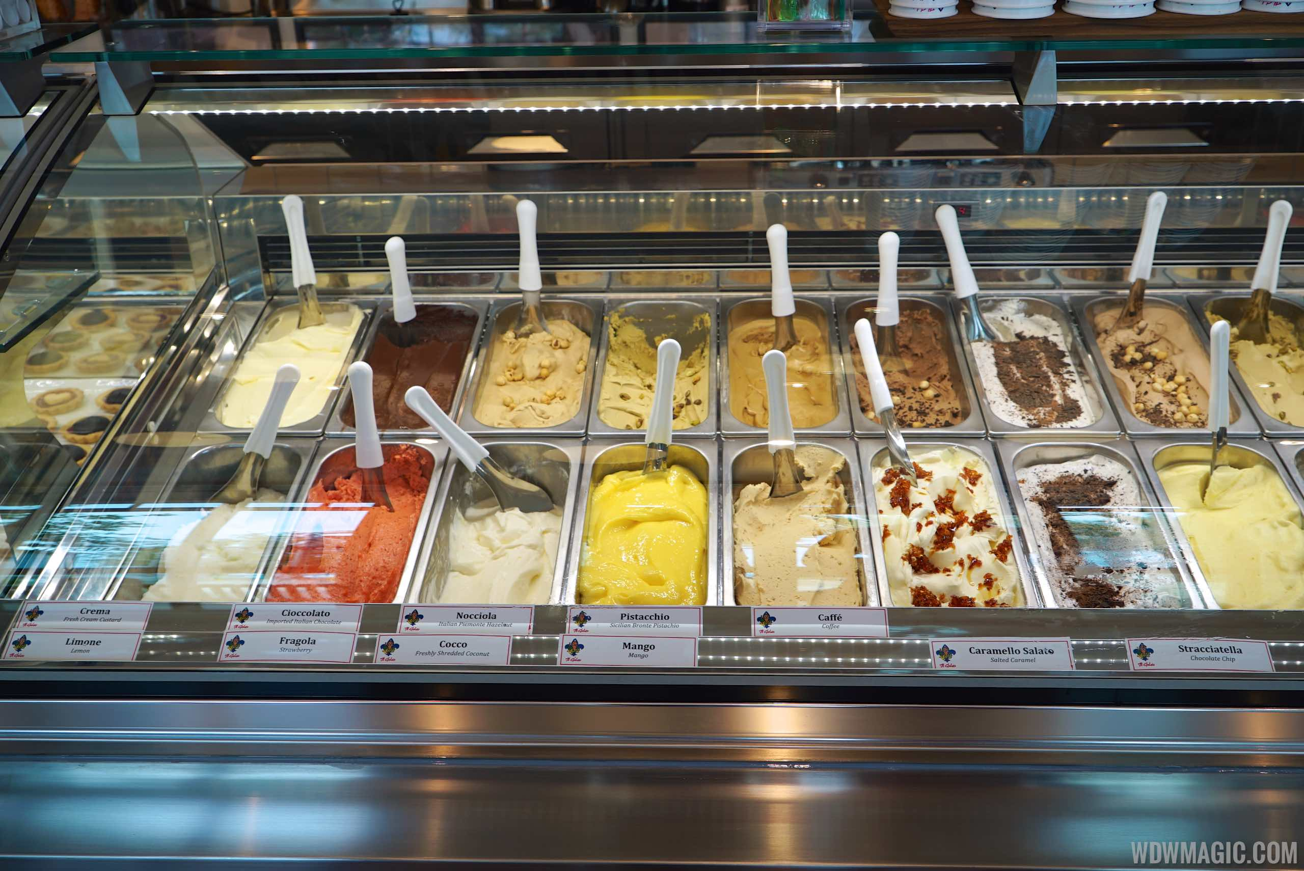 Vivoli Gelateria - Interior