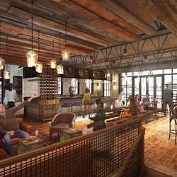 Wine Bar George concept rendering