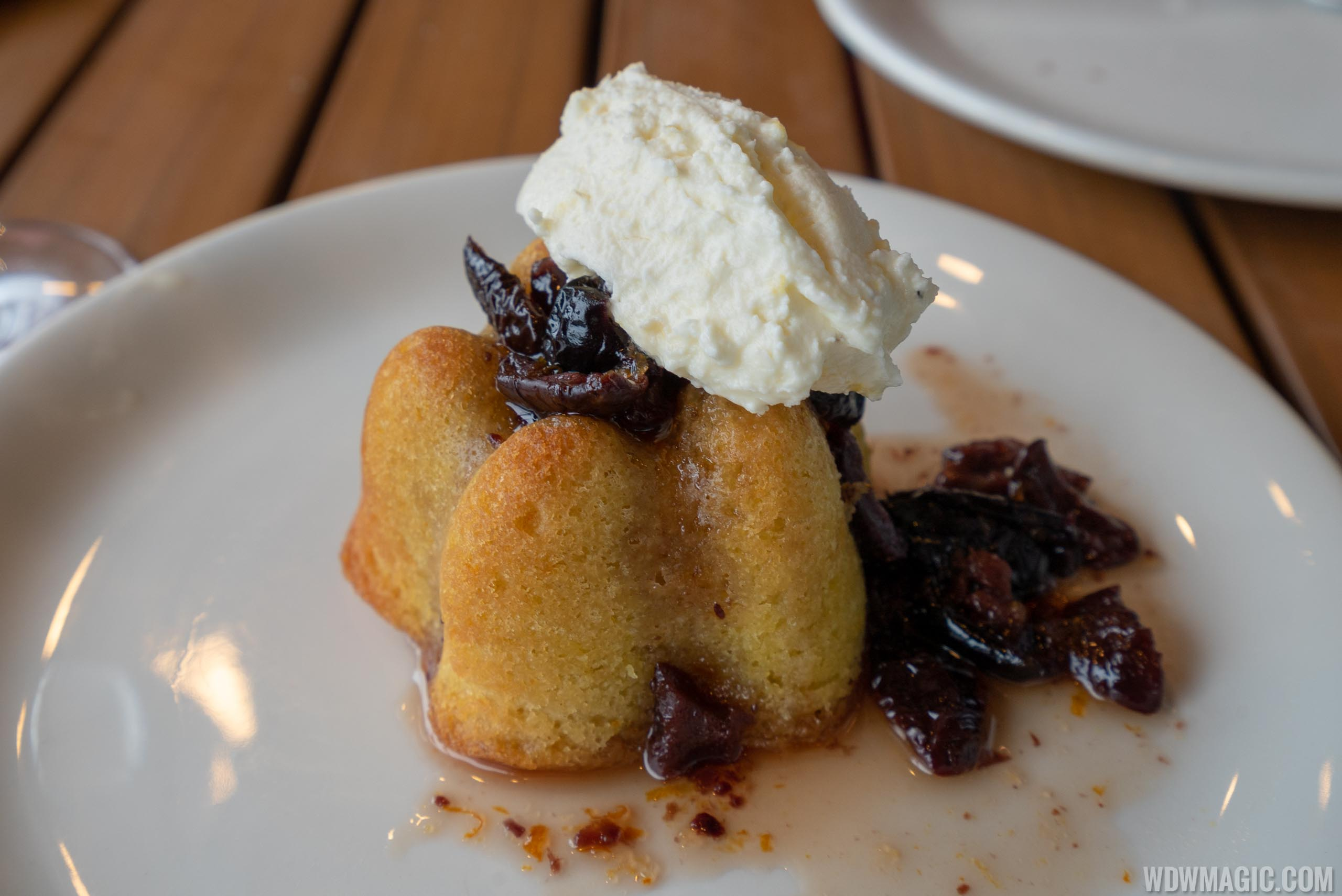 Wine Bar George - Olive Oil Cake $7