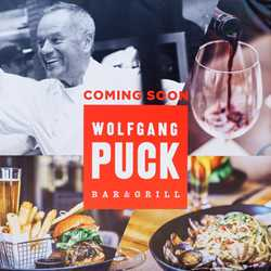 Wolfgang Puck Bar and Grill construction