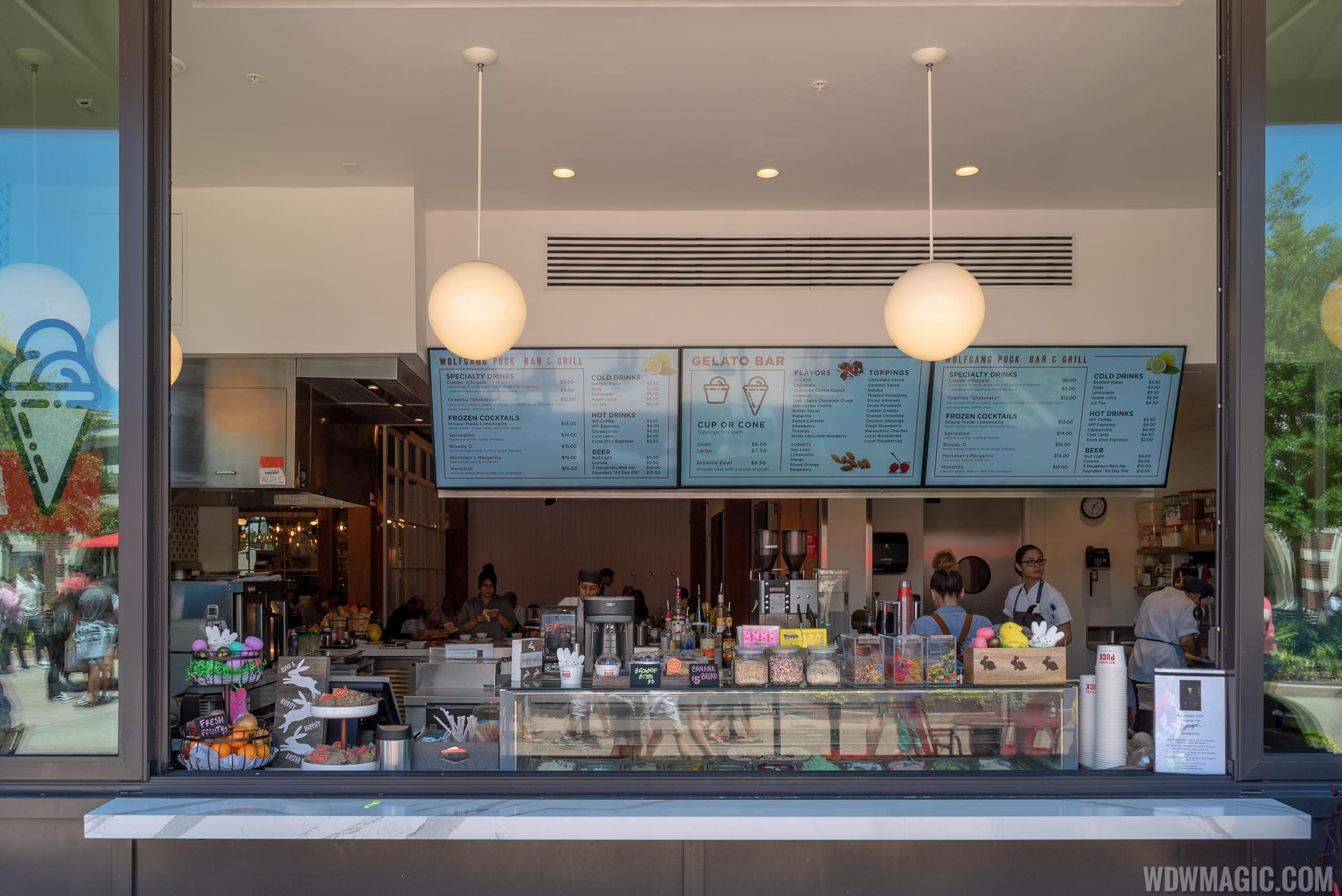 Puck's Gelateria at Wolfgang Puck Bar and Grill Disney Springs