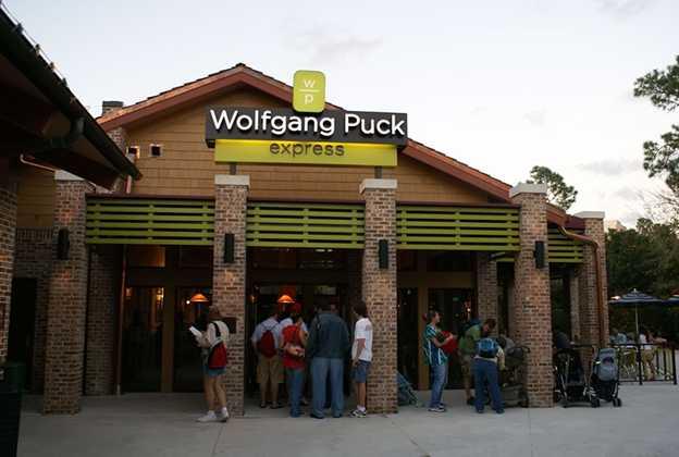 Newly refurbished Wolfgang Puck Express opens