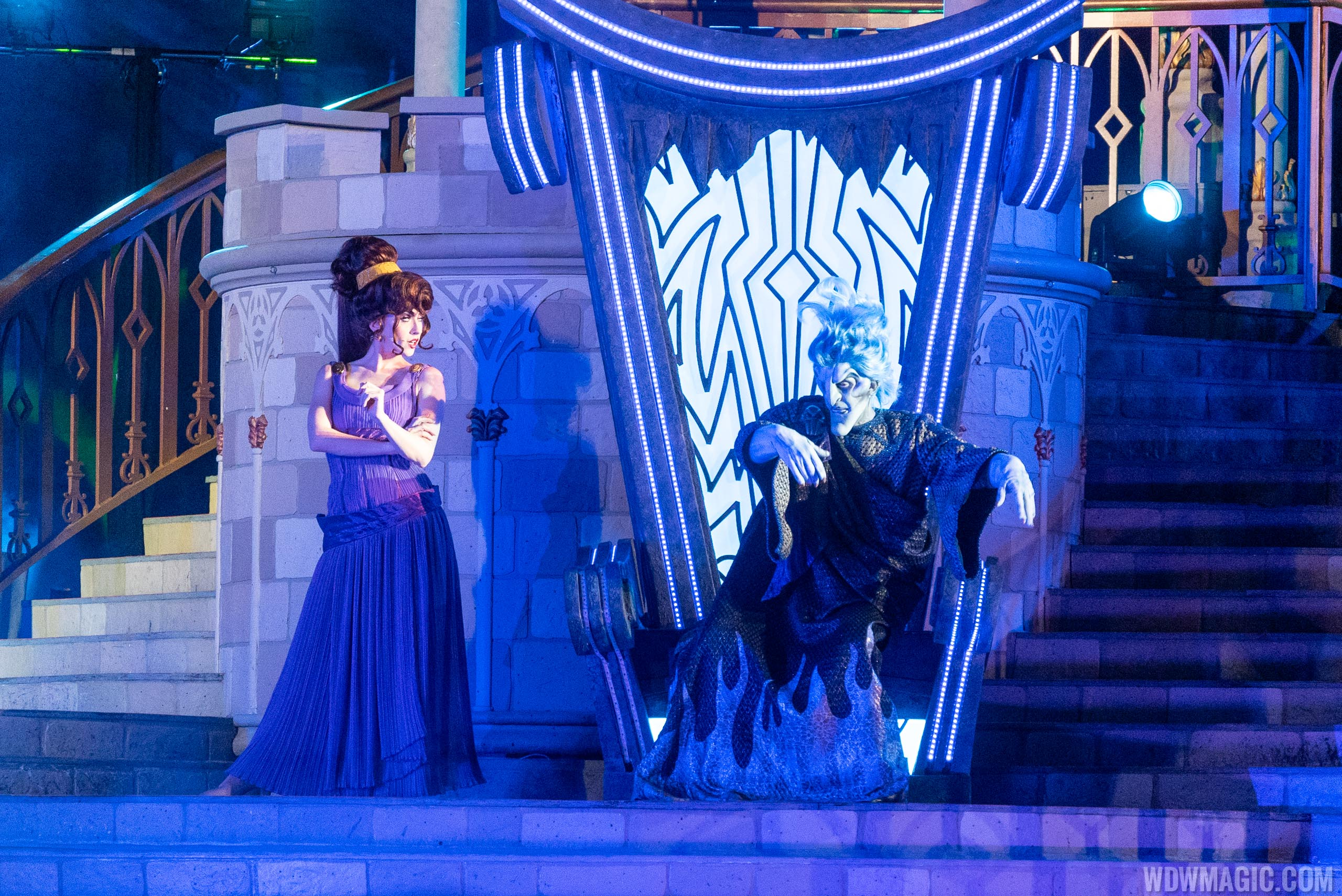 Hades at Disney Villains After Hours