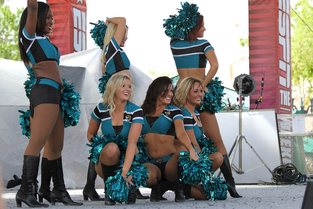 2011 ESPN The Weekend - Day 3 - Jacksonville Jaguars Cheerleaders