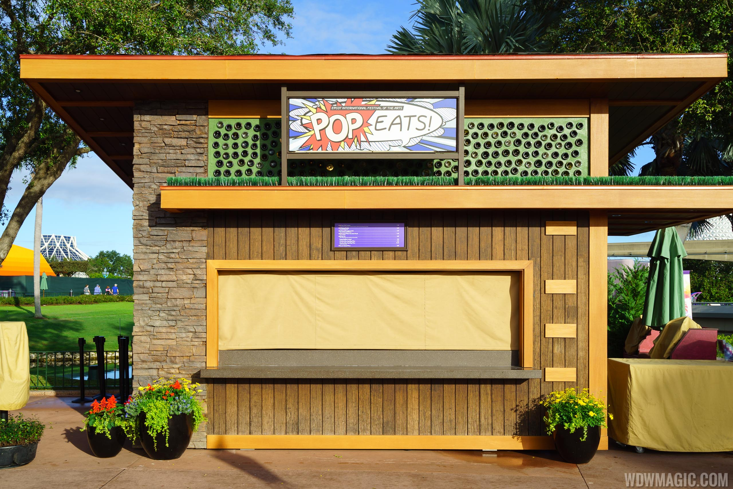 Epcot Festival of the Arts - Pop Eats! kiosk