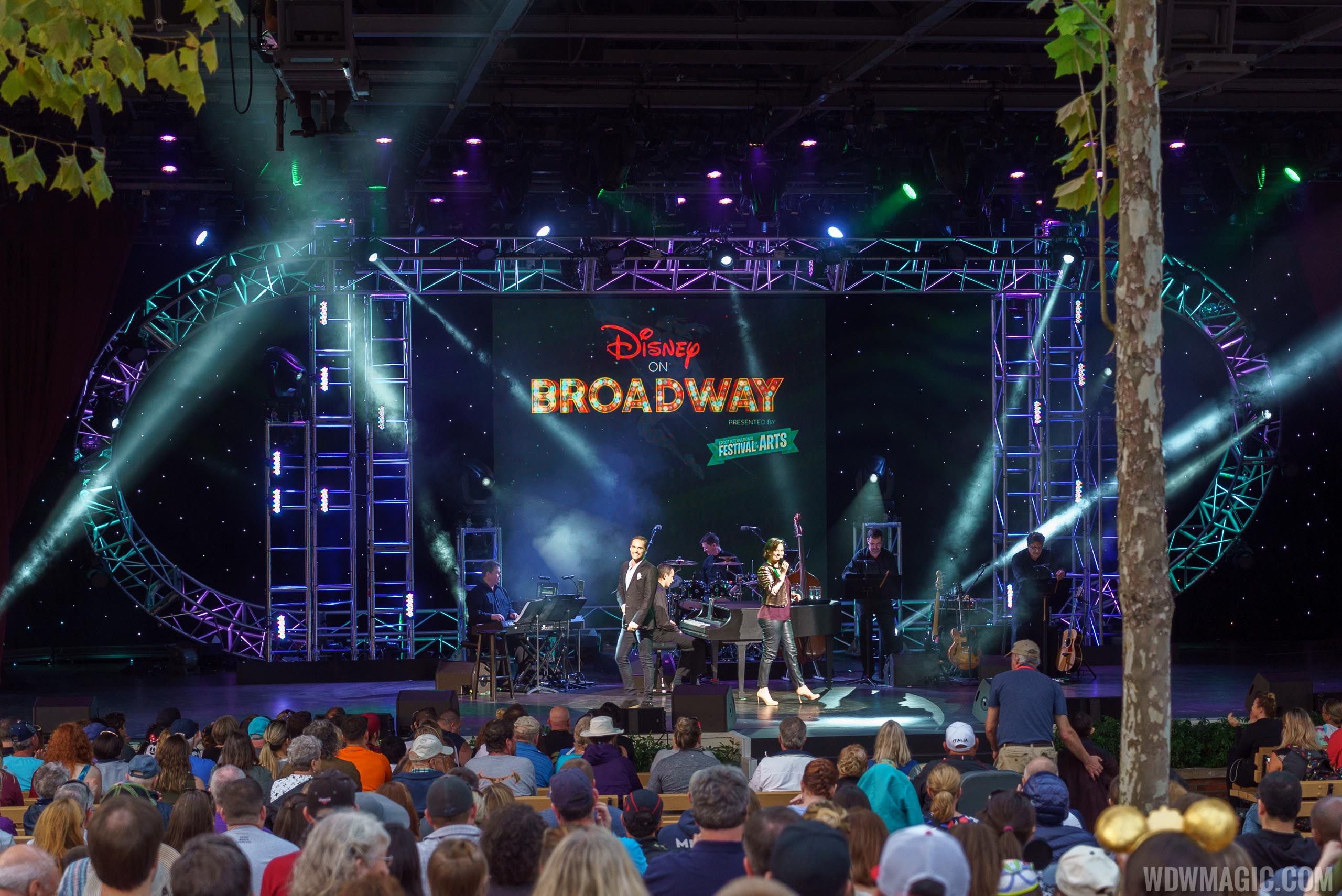 Disney on Broadway concerts at the America Gardens Theatre