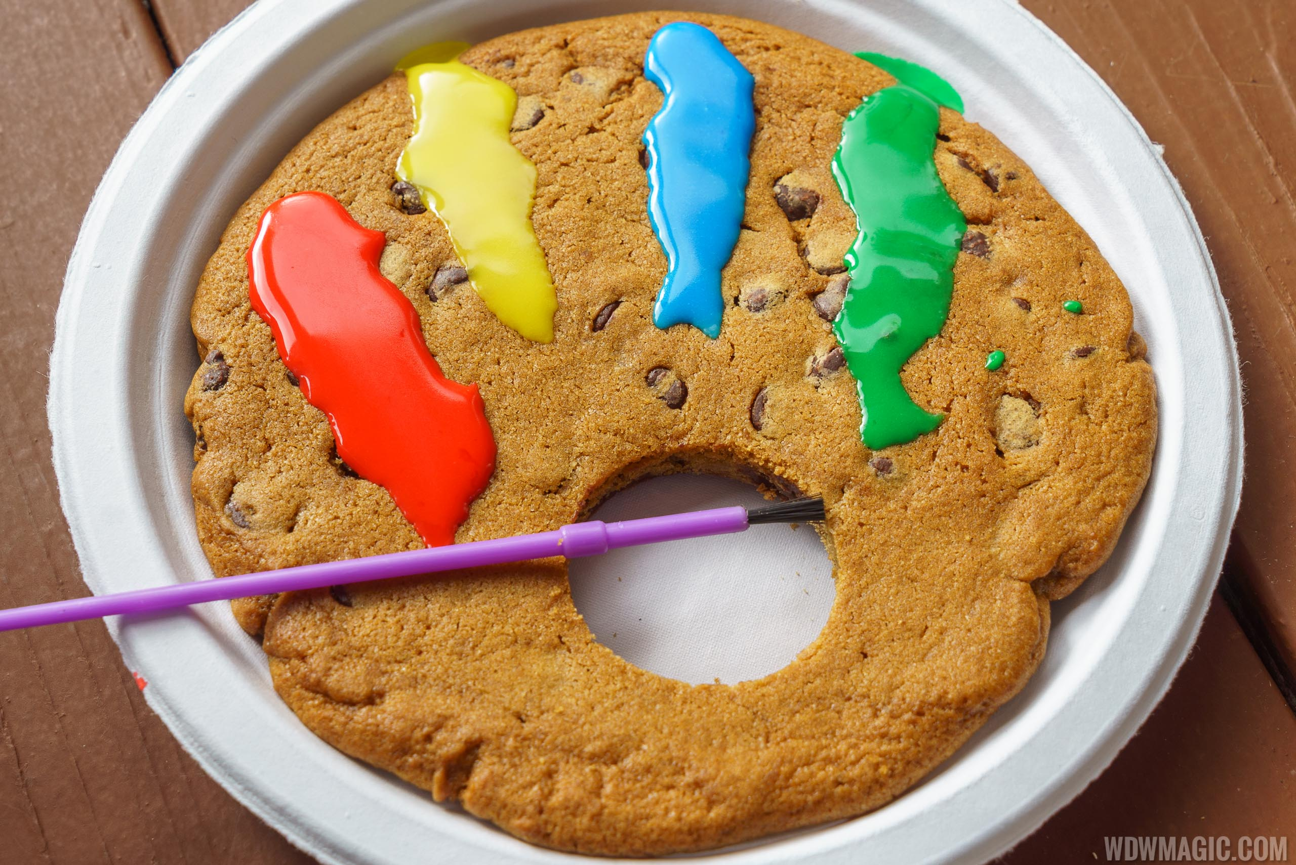 Festival of the Arts Food Studio - The Artist's Table - Jumbo Chocolate Chip Cookie