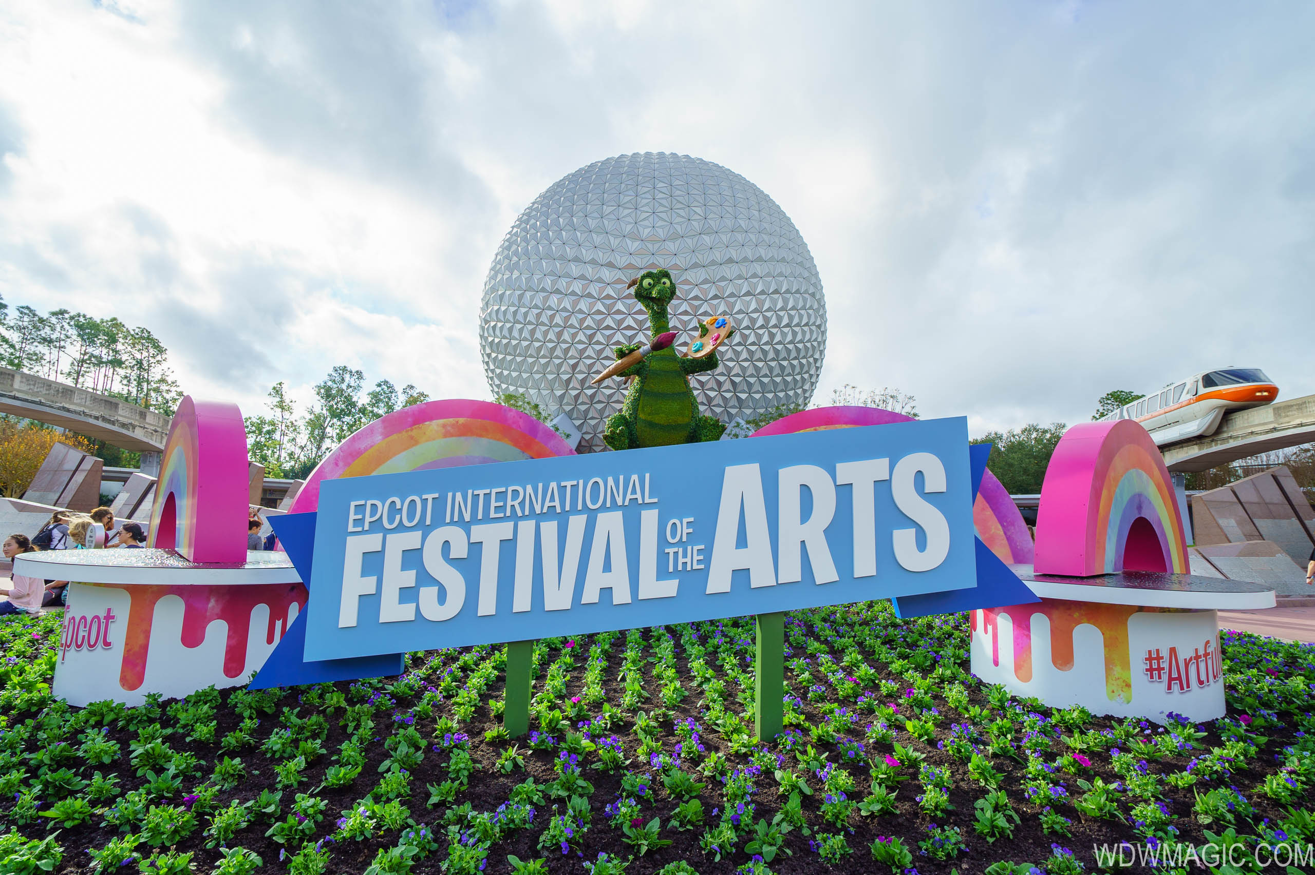 Opening day at the 2018 Epcot International Festival of the Arts