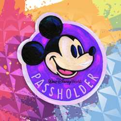 2020 Epcot Festival of the Arts Passholders Magnet and Merchandise