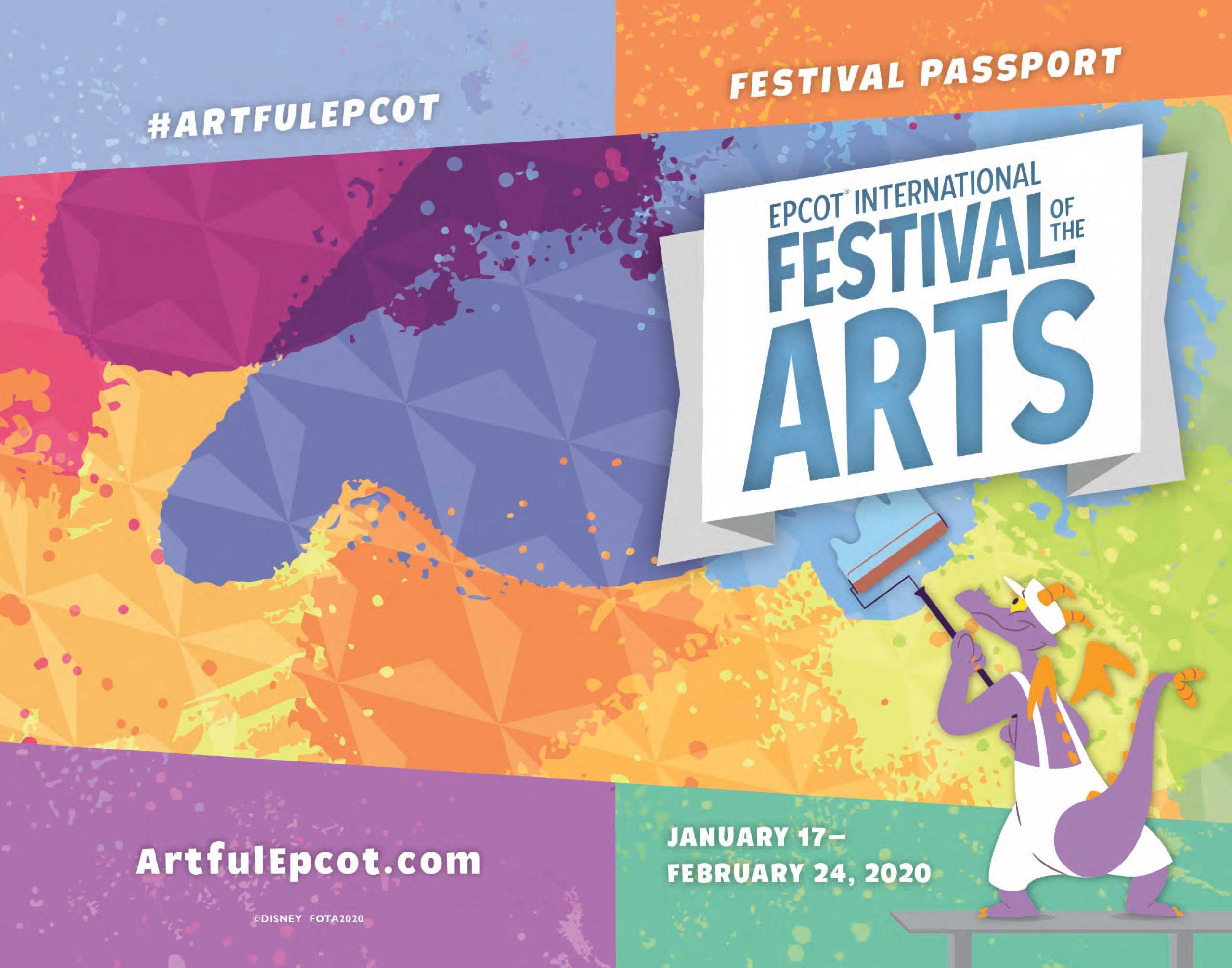 2020 Epcot Festival of the Arts Passport