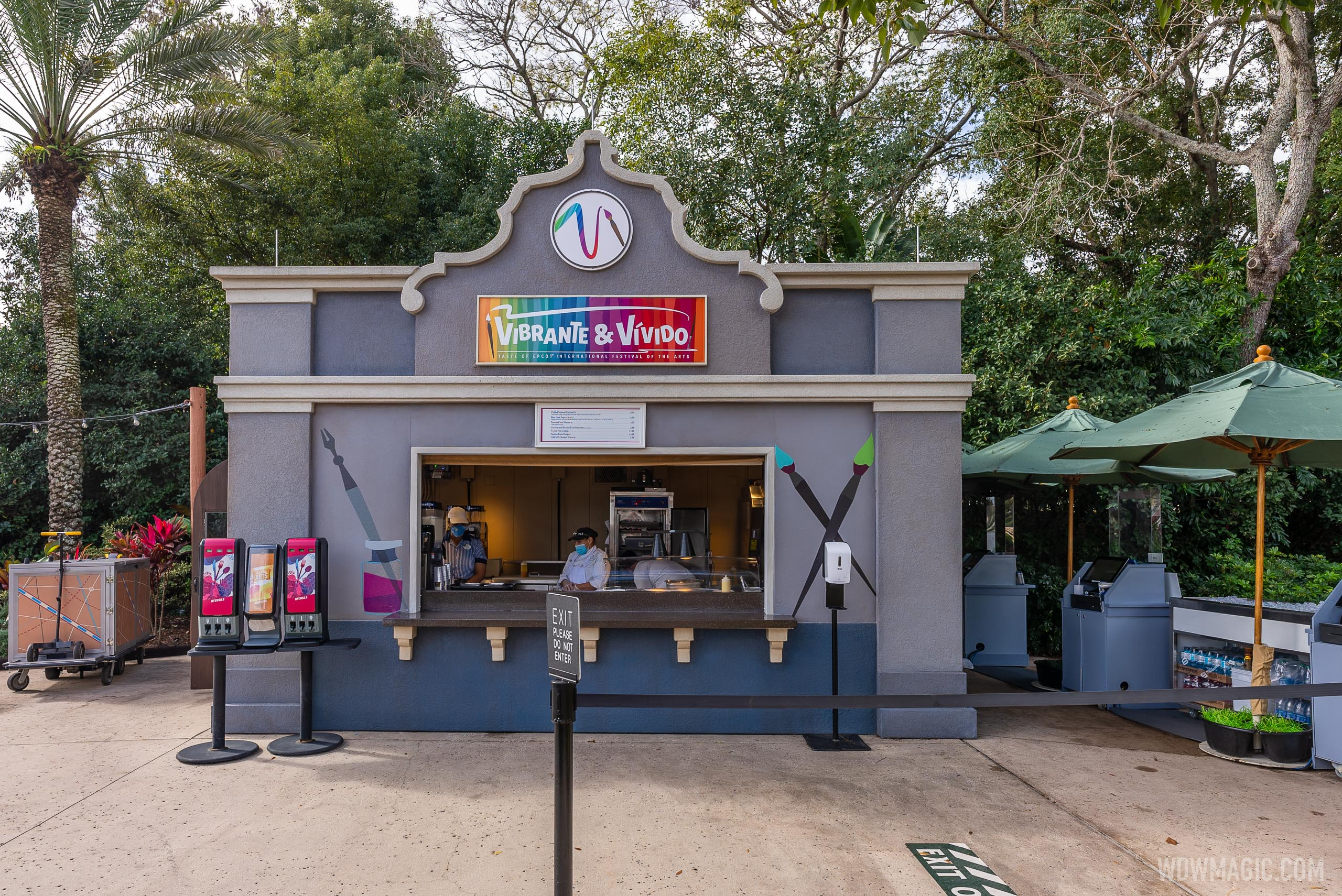 New for 2021 - Vibrante and Vívido Food Studio