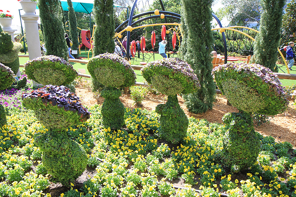 2010 International Flower and Garden Festival opening day