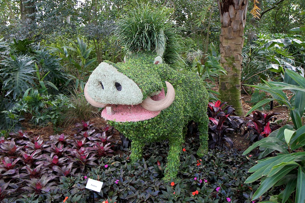 2011 Epcot International Flower and Garden Festival opening day tour