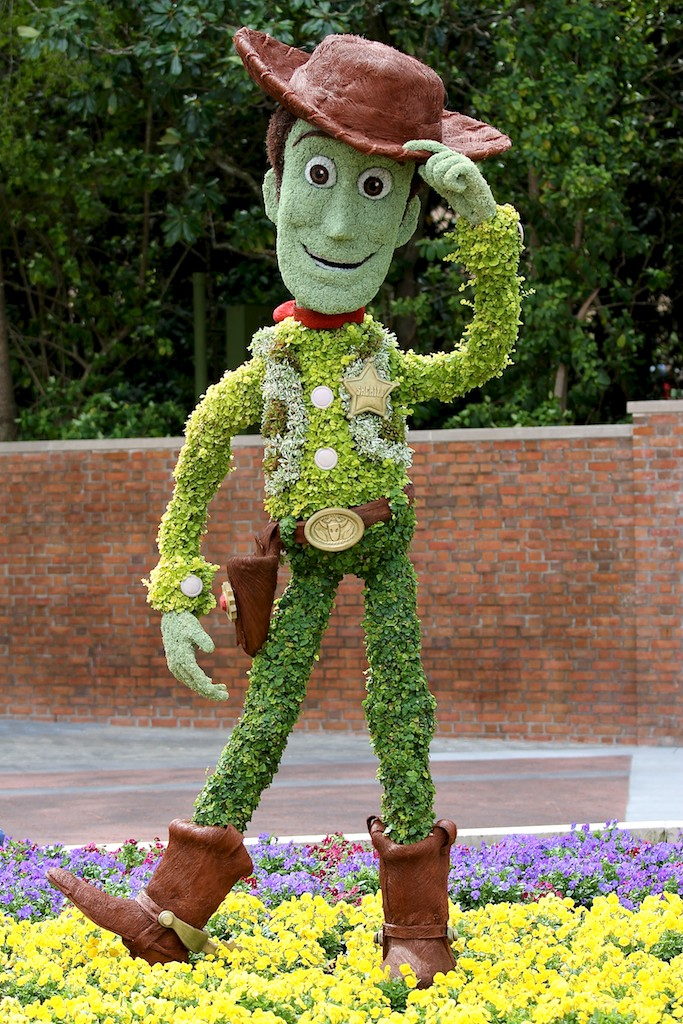 2012 Flower and Garden Festival topiary