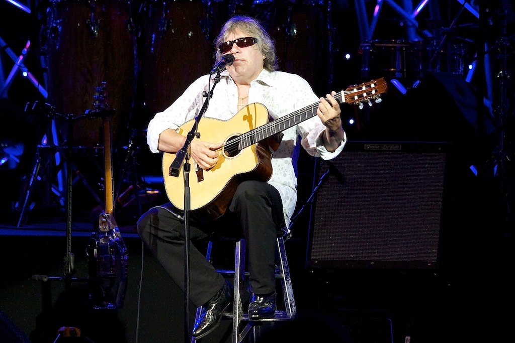 Jose Feliciano at the 2012 Flower and Garden Festival