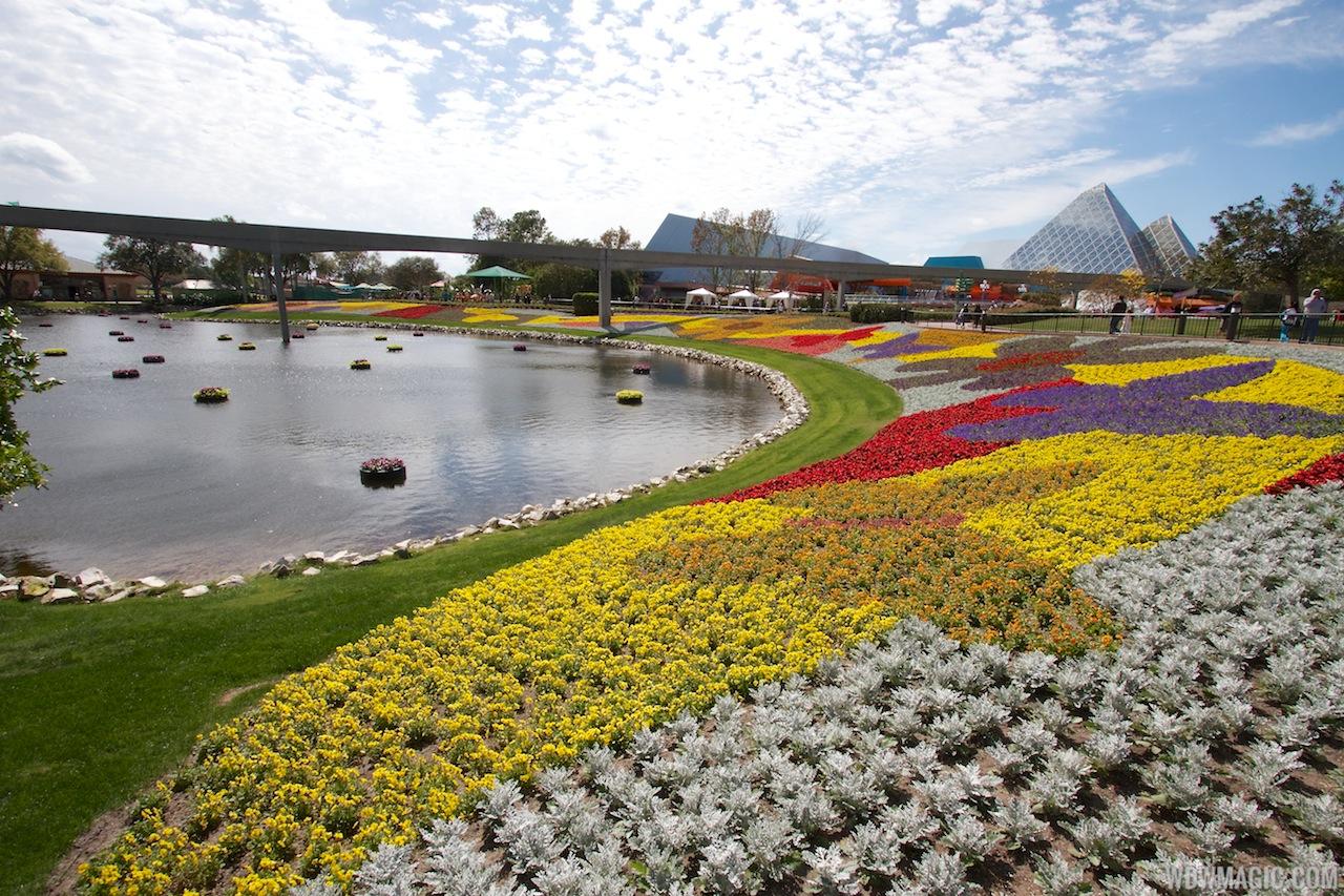 2013 International Flower and Garden Festival preparations