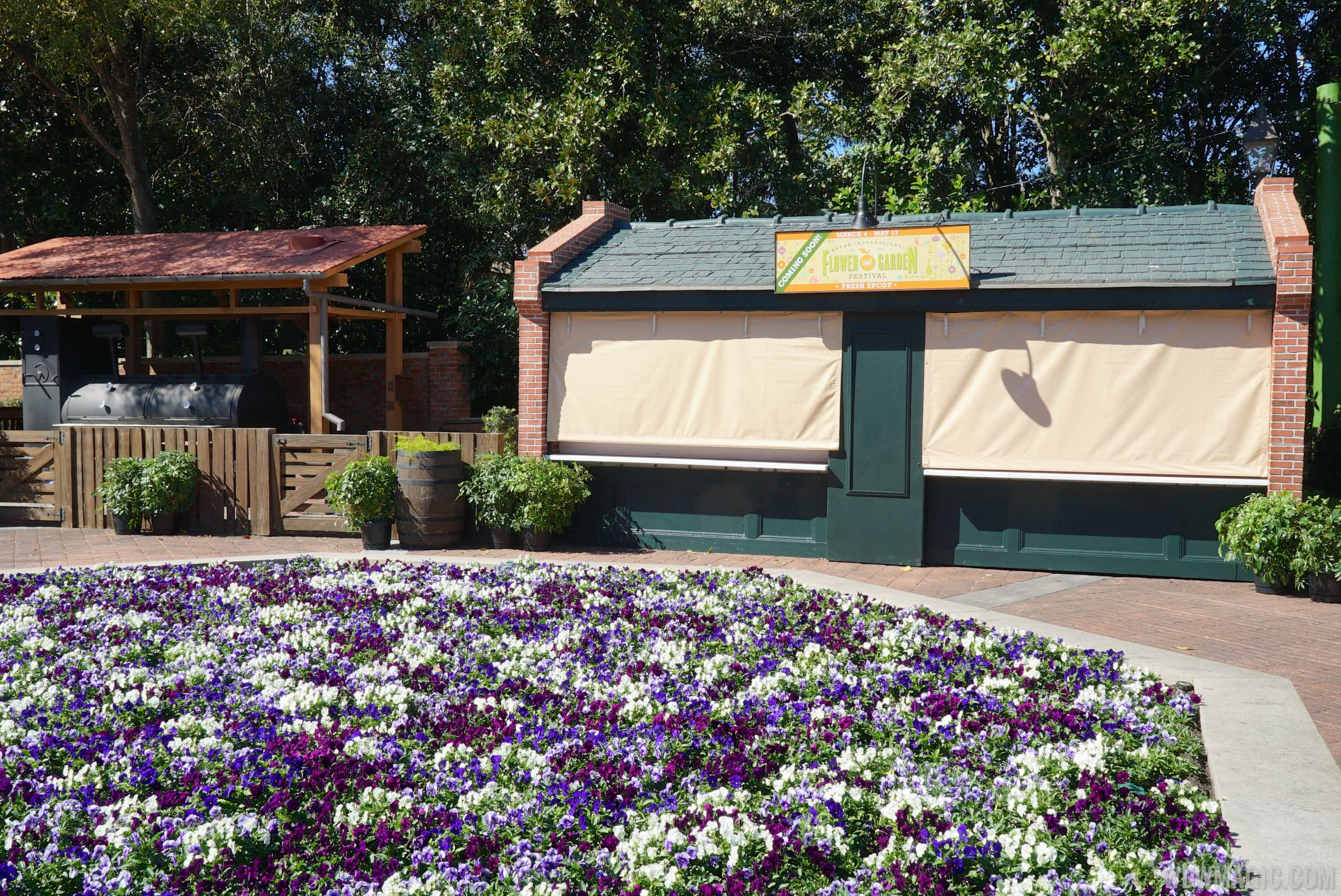 2015 Epcot Flower And Garden Festival Outdoor Kitchen And Topiary Installation Photo 15 Of 26
