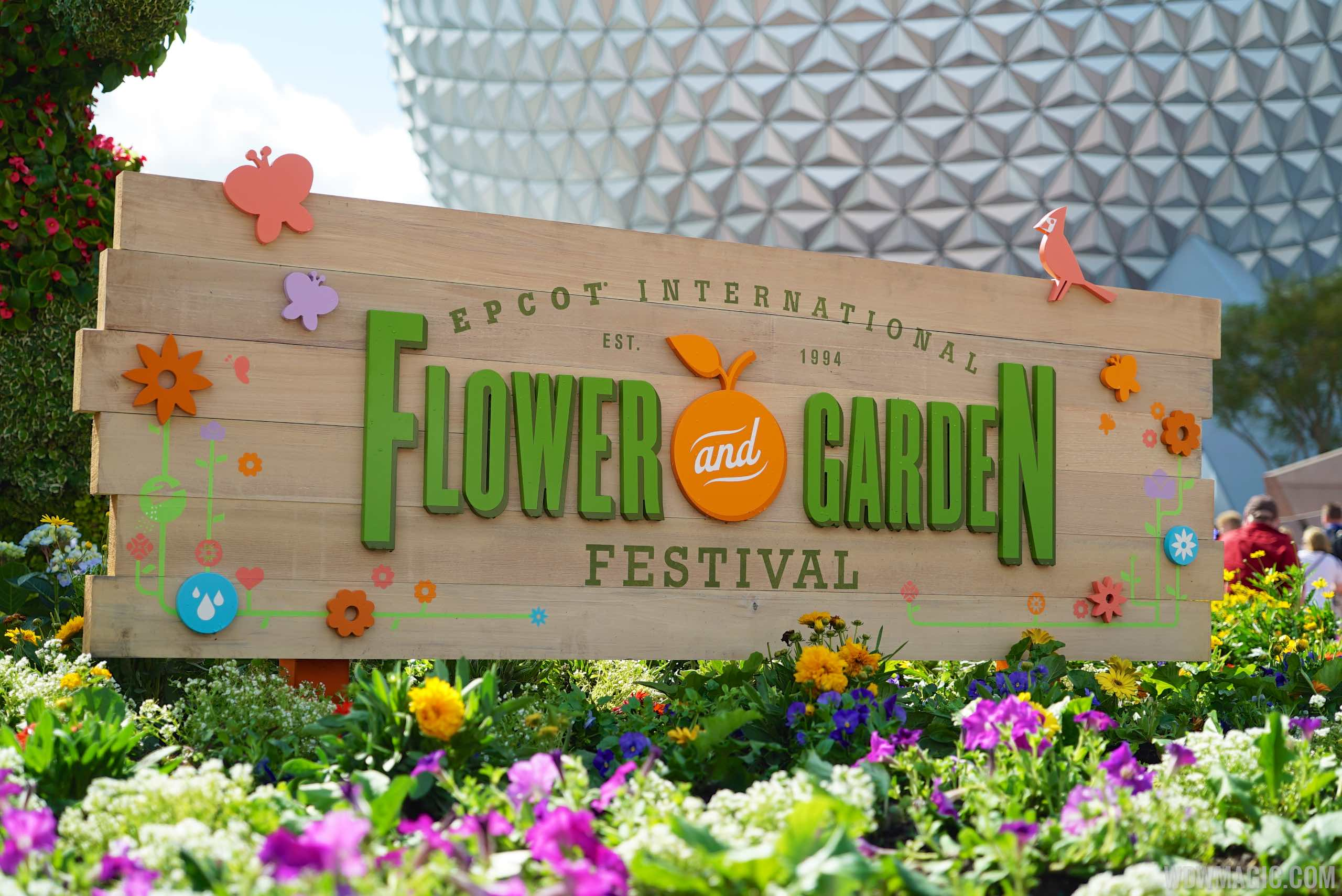 2015 Epcot International Flower and Garden Festival opening day tour ...