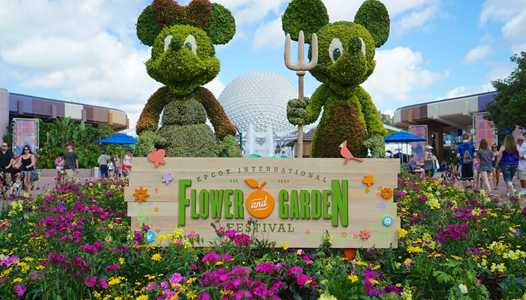 All the menu items for the Outdoor Kitchens at the 2021 Taste of EPCOT International Flower and Garden Festival