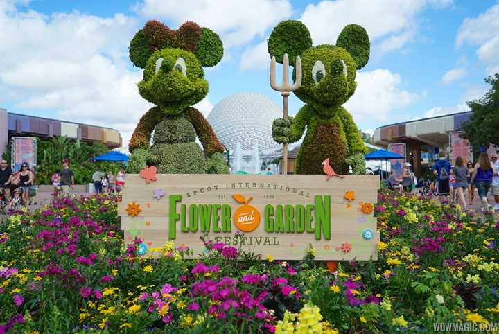 2019 Epcot International Flower and Garden Festival dates announced