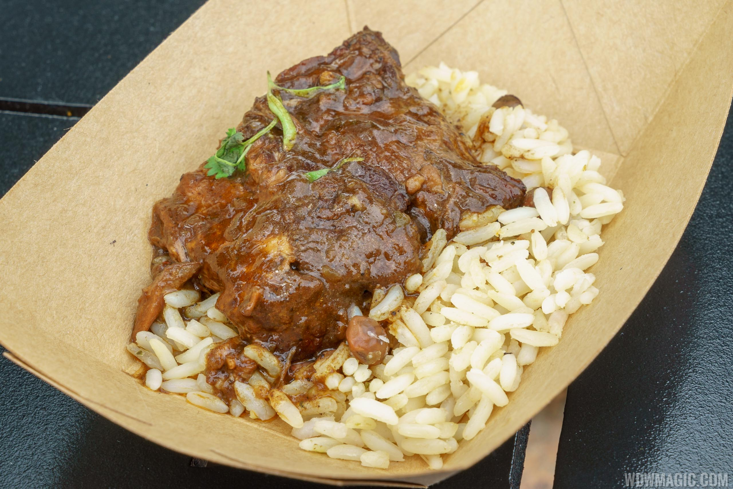 2016 Epcot Flower and Garden Festival Outdoor Kitchen - La Isla Fresca - Jamaican-brasied Beef